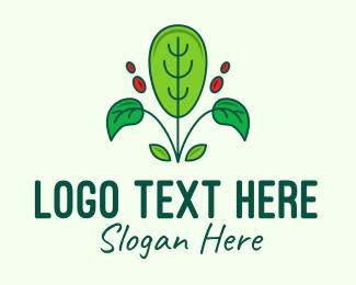 Enviroment - Eco Plant Gardening logo design