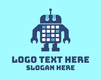 Calendar - Droid Calendar logo design