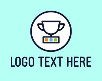 Winner - App Cup logo design