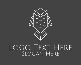 Owl - Grey Owl logo design