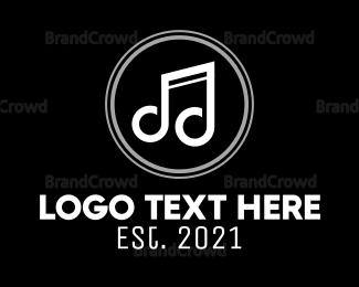 Musician - Music Note logo design