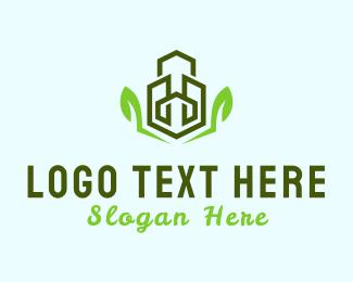 Building - Eco Buildings logo design