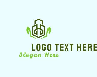 Urban - Eco Buildings logo design