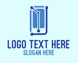 Link - Mobile Link logo design