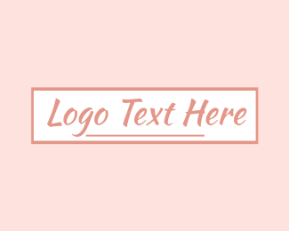 Text - Feminine Signature Text logo design