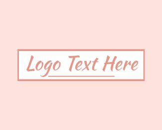 Text - Feminine Signature Text logo design