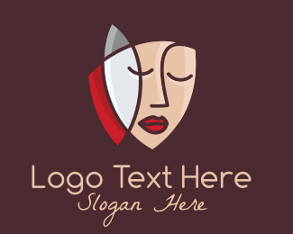 Plastic Surgery - Artistic Face logo design