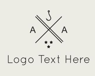 Seaside - Hook & Stars logo design