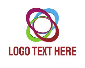 Computing - Colorful Ellipses  logo design