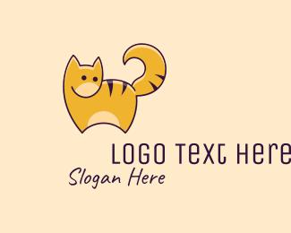 Minimalist - Minimalist Cat logo design