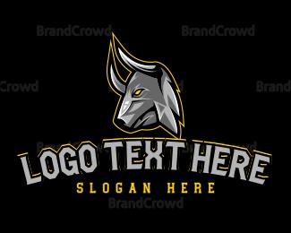 Toro - Bull Head Gaming logo design