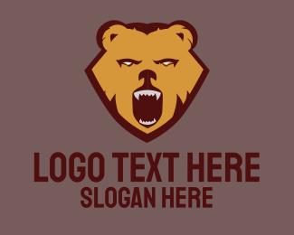 Fang - Wild Bear logo design