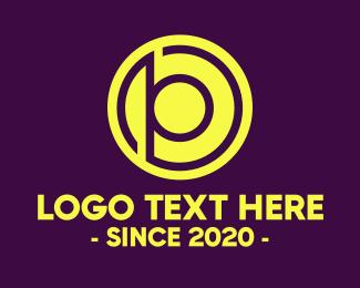 Round - Round B & P logo design