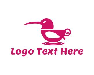Colibri - Hummingbird Cup logo design