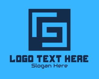 """""""Maze Tech Letter G"""" by RistaDesign"""