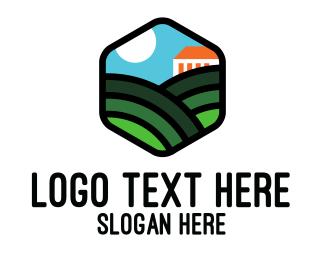 Rising - Spring Plains logo design