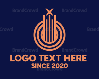 Star - Abstract Star Line logo design