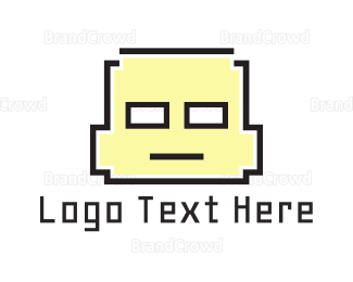 Boy - Pixel Boy logo design