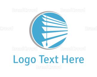 Window - Window & Curtains logo design