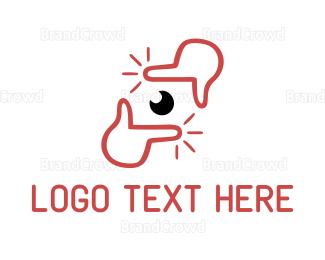 Picture Frame - Camera Frame logo design