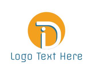 Id - I & D  logo design