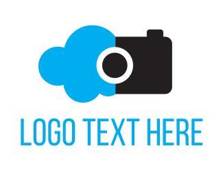 Aerial - Cloud Photos logo design