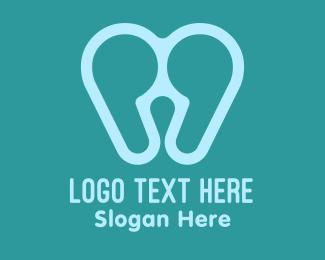 Oral - Quote Tooth logo design
