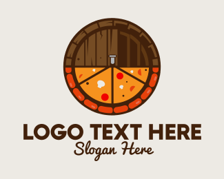 Italian Restaurant - Beer & Pizza logo design