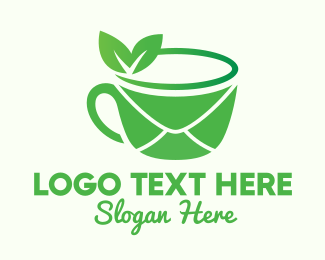 Tea - Tea Mail Cafe logo design
