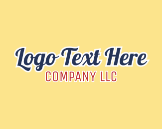 Text - Company Text logo design