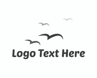 Independence - Birds Flying  logo design
