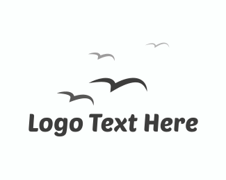Fly - Birds Flying  logo design