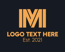 Company - Modern Minimalist Letter M logo design