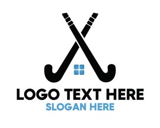 Hockey - Hockey Stick Homes logo design