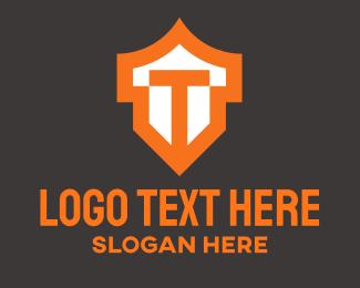 Letter T - Letter T Shield  logo design