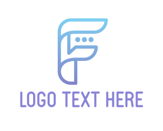 Website - Purple F logo design