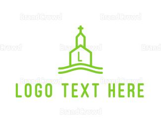 Chapel - Line Church logo design