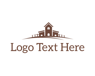 Ranch - Country House logo design
