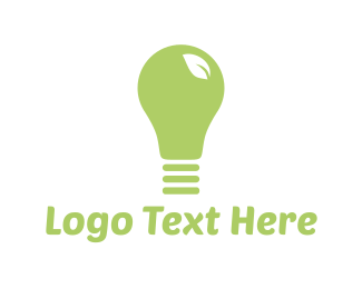 Eco Energy - Eco Light logo design