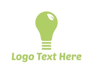 Lighting - Eco Light logo design