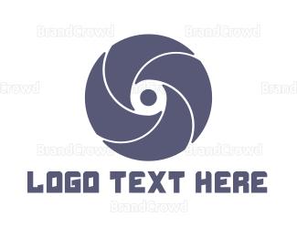 Whirl - Turbine Letter O logo design
