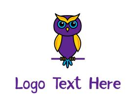 Little - Little Owl logo design
