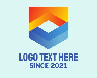Shield - Digital Software Shield logo design