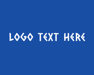 Traditional Greek Text Logo