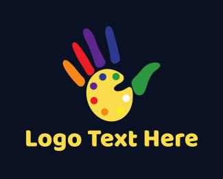 Palette - Art Hand logo design