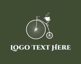 Old - Old Bicycle Cafe logo design