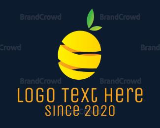 Peel - Lemon Peel logo design