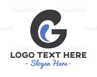 Letter G - Curvy Letter G logo design