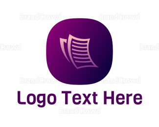 Data Transfer - Email App logo design