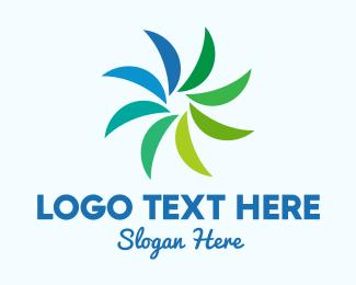 Tropical Leaves Brand  Logo